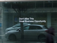 On Spam, Business Proposals (Brussels)