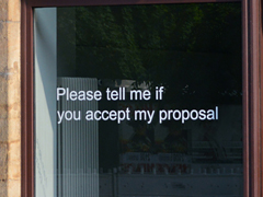On Spam, Business Proposals (Dresden)