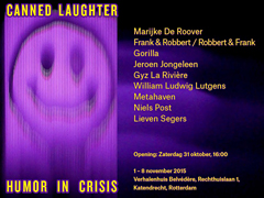 Canned Laughter – Humor in Crises