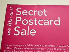 Secret Postcard Sale