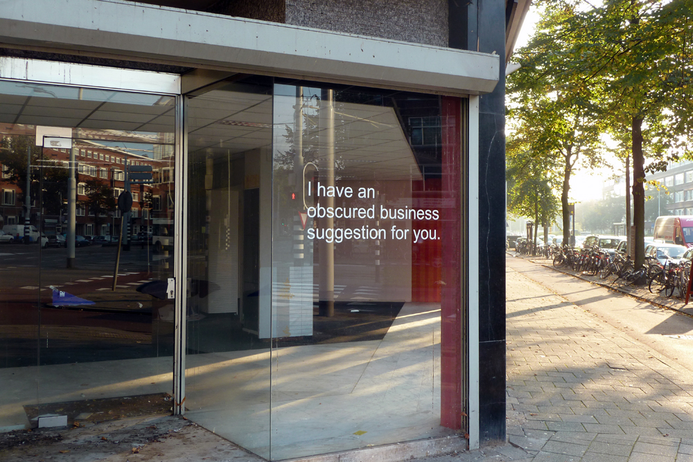 NielsPost, On Spam, Business Proposals (Rotterdam)